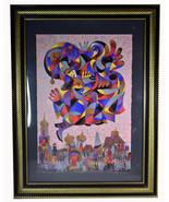 Limited edition HC Hors Commerce Anatole Krasnyansky Serigraph Fly Over ... - $2,374.99
