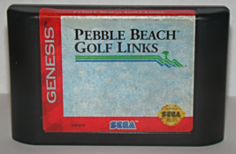 SEGA GENESIS - PEBBLE BEACH GOLF LINKS (Game Only) - $5.75