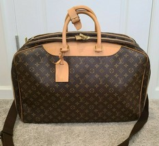 LOUIS VUITTON  Monogram Alize 3 Poches Two Way Boston Soft Suitcase M41391 - $1,286.99