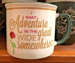 Disney Parks Princess Belle I Want Adventure In The Great Wide Somewhere... - $22.31
