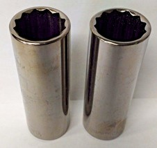 "Armstrong 38-316A 3/8"" Drive 12 Point Deep Socket 16mm USA 2PCS - $3.47"