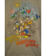 Disney Disneyland T-Shirt I'm Going To The Disneyland Resort Mickey Goofy Large - $12.86