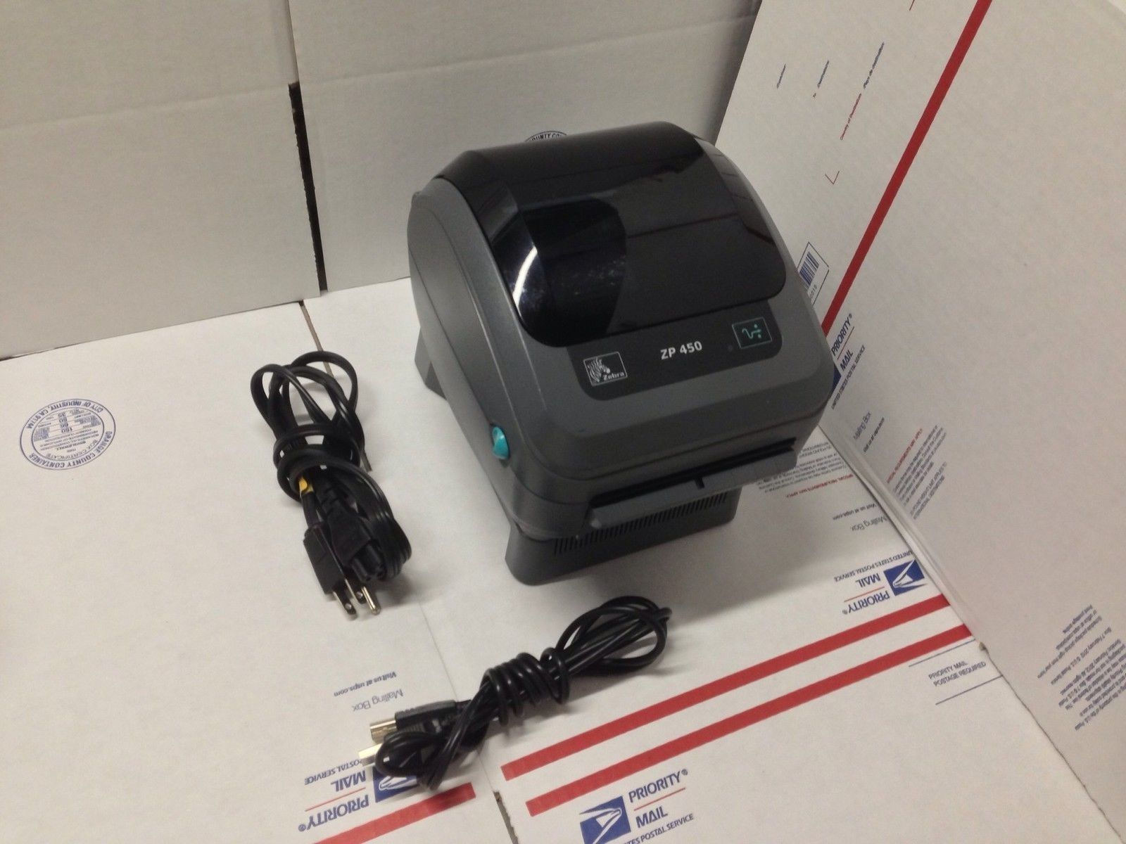 Zebra ZP450 Thermal Label Printer With 250 and similar items