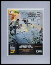 2004 Star Wars Battlefront Framed 11x14 ORIGINAL Vintage Advertisement - $34.64