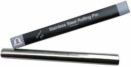 Steel Rolling Pin Baking Dough Pizza Baker Roller Nonstick Kit NEW - $25.05
