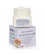 Bella Vita Organic Night Glow Face Cream Skin Repair, Hydration, Anti Ag... - $16.05