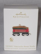 Hallmark Keepsake 2012 Lionel Nutcracker Route Tender Christmas Ornament QXI2034 - $13.98