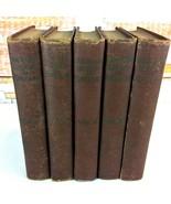 Antique 1894 Books History of England Thomas Babington Macaulay Complete... - $69.29
