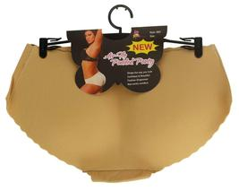 Women's Fullness Air Flo Padded Butt Shaper Booster Panty Beige #8081 image 4