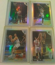 1998-99 Topps Chrome Refractor Lot of 4 Cards Oakley Curry Davis Johnson - $13.85
