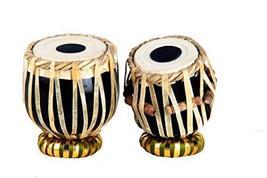 Buddha4all Mini Tabla Decorative Showpieces with Tabla Box Replica Toy T... - $45.53