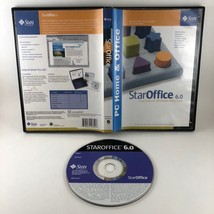 Sun Microsystems Star Office Staroffice 6.0 For Windows PC Office Suite - $19.99