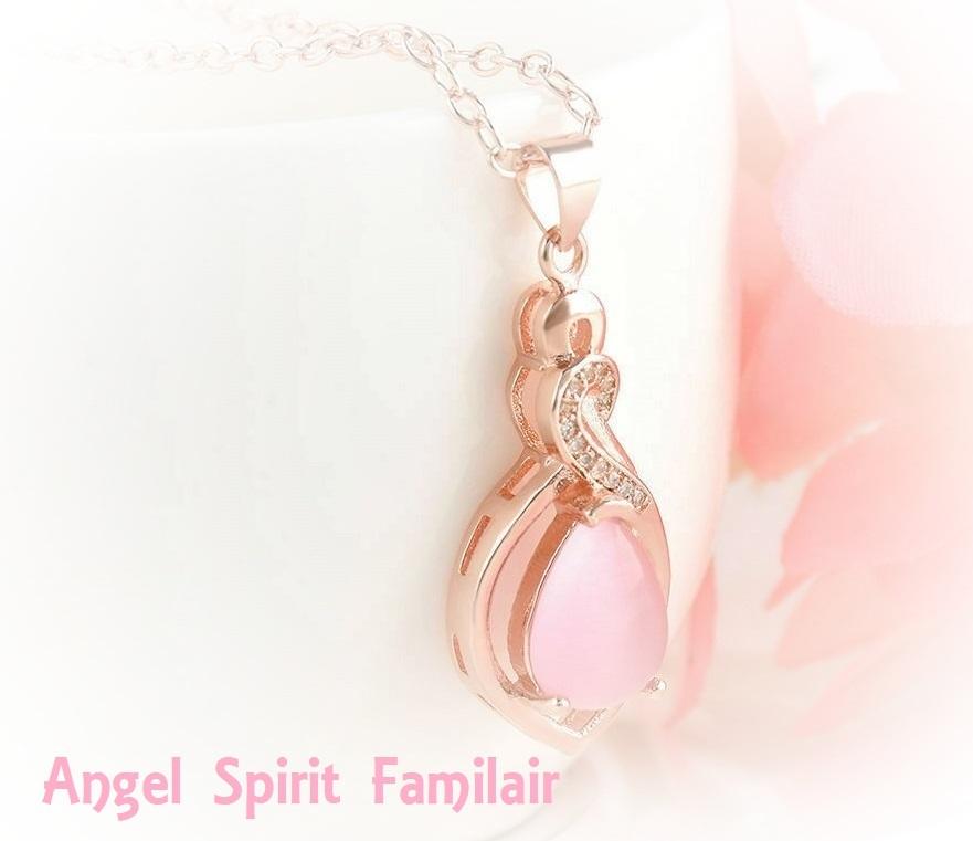 Female Familiar Talisman Angel Divine Energy Protection Love Cleanse Aura Djinn - $60.00