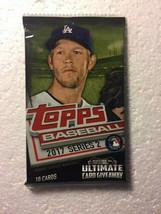 2017 Topps Baseball Series 2 Factory Sealed Foil Hobby Pack - $1.99