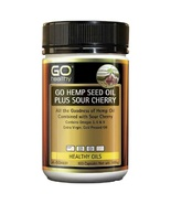 GO Healthy Hemp Seed Oil Plus Sour Cherry 100 SoftGel Capsules - $84.11