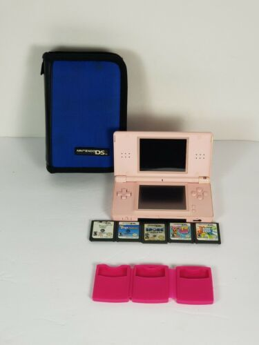 Primary image for Nintendo DS Lite Coral Pink Console No Stylus,  No Charger, Non-Tested! For part