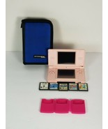 Nintendo DS Lite Coral Pink Console No Stylus,  No Charger, Non-Tested! For part - $48.99