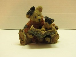 1994 Boyds Bears & Friends Scaredy Cat Figurine - $10.89