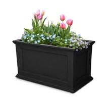 Garden Beautification Tool Rectangular Black Plastic Planter with Draina... - $164.96 CAD