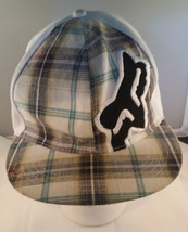 Fox Racing Plaid Fitted Hat - $9.89