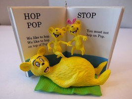 Hallmark Dr. Seuss Hop On Pop Keepsake Christmas Ornament From 2015 - $11.87