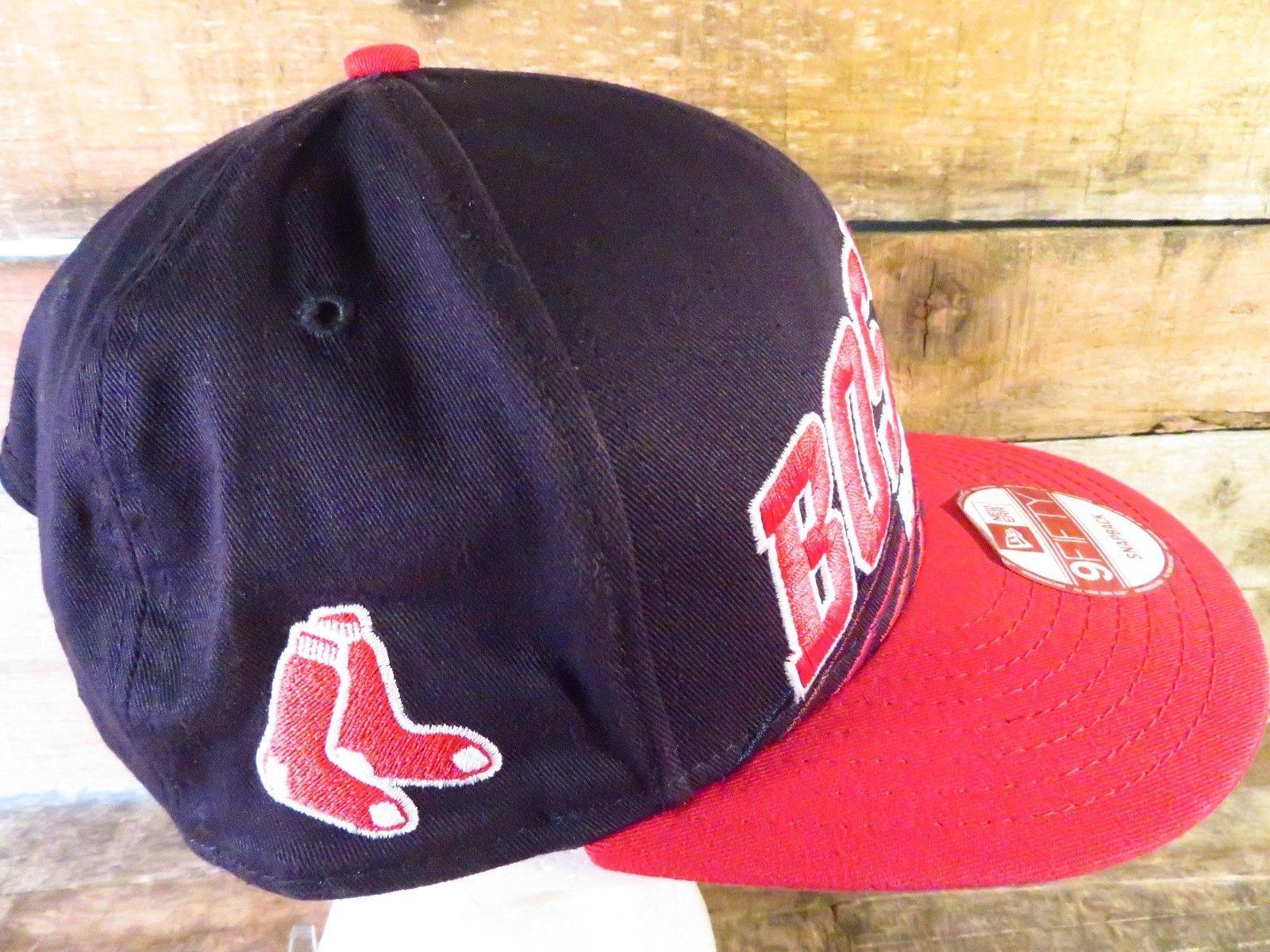 Boston Red Sox Baseball MLB New Era Snapback Regolabile Adulto Cappello