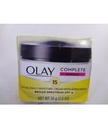 Olay Complete Normal SPF 15 UV 365 Daily Moisture Cream w Sunscreen 2oz ... - $10.89