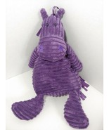"JELLYCAT plush Cordy roy Purple horse 15-16"" cordyroy chenille ribbed - $12.86"