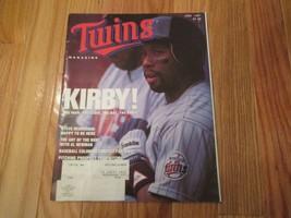 Minnesota Twins Puckett 1991 Scorecard Program Souvenir Magazine MLB Bas... - $6.49