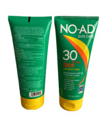NO-AD Sun Care SPF 30 Oil Free Face Sunscreen Lotion 6oz  Expires 5/2022... - $34.64