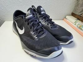 Nike Womens sz 7 Training Flex Supreme TR4 819026-002 Black White Shoes - $20.99