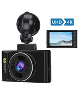 "AWESAFE 4K Dash Cam UHD 2196P 3"" LCD Screen 170° Wide Angle Dash Camera ... - $69.35"