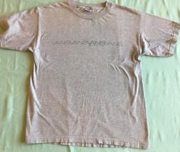 Vans Skateboarding Heather Gray Skater T-Shirt XL - $7.69
