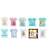 Disney Frozen Toddler Girls T-Shirts Elsa Anna Olaf Various Toddler Size... - $9.79