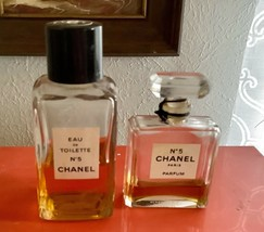 Vintage pair Chanel No. 5 Paris Parfum Perfume .5 oz 15ml - $39.99