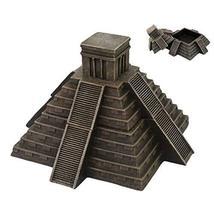 Pacific Giftware Mesoamerican Aztec Pyramid Box Collectible Desktop Decorative A - $44.43