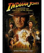 Indiana Jones and the Kingdom of the Crystal Skull (2008) Widescreen DVD - $5.99