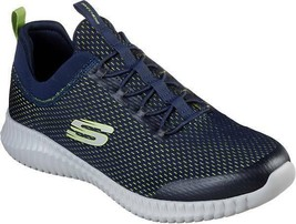 SKECHERS Men's Elite Flex Belburn Training Shoes in Black in Sizes 6.5 t... - $49.99