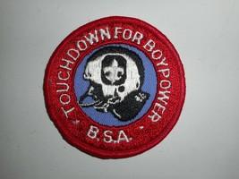 "Vintage 70s BSA Boy Scouts Touchdown for Boypower Patch 3"" - $7.99"