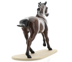 "Hagen-Renaker Miniature Ceramic Horse Figurine Thoroughbred ""Seabiscuit"" image 5"