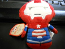 """Hallmark Itty Bitty's """"Iron Patriot"""" 2016 NEW Plush with Tags 2nd in Series - $6.83"""