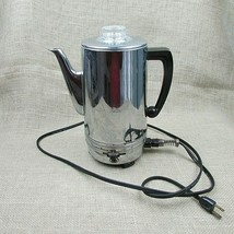 Vintage Montgomery Wards Perc-O-Matic electric coffee maker USA WORKS - $19.20
