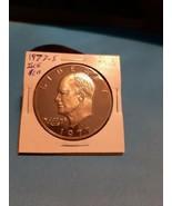 1977-S EISENHOWER DOLLAR!!! GEM GEM PROOF LOOK!!! FRESH FROM A PROOF SET  - $7.92