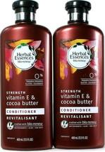 2 Herbal Essences Bio Renew Strength Vitamin E & Cocoa Butter Conditioner 13.5oz - $27.99