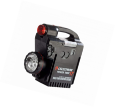 Celestron Rechargeable Power Supply PowerTank 17, 12v 17Ah, Black (18777) - $184.64 CAD