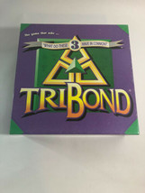 TriBond Board Game Challenge Trivia Matching Games 3 Things Vintage 1995... - $7.70