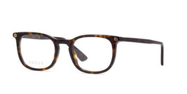 9d5893500f05f Authentic Gucci Eyeglasses GG0122O 002 Dark Havana Frames Rx-ABLE 50MM -  £84.25 GBP