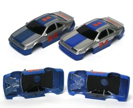 2 1994 TYCO Thunderbird #34 Wide Pan Slot Stock Car Body Unreleased VaRIaTIoNs ! - $29.69