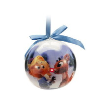 TVs Rudolph the Red-Nosed Reindeer LED Light Christmas Holiday Ball Orna... - €10,21 EUR