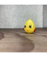 Shopkins RARE metallic Yellow Egg Chic Eggchic Variant Fridge Season 4 - $9.89